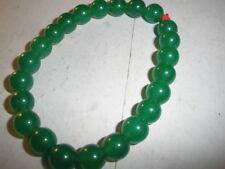 23 8mm Jade Stone Bracelet Size 8 Stretchy