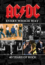 AC/DC New Sealed 2017 COMPLETE HISTORY & BIOGRAPHY 2 DVD SET