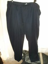 654d8f39991 Alia Women s Navy Plus size 24 Feather Touch Poly Pull On Pants NWT