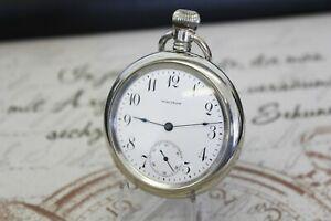 Rare antike American Waltham Motiv Pferd Taschenuhr pocket watch