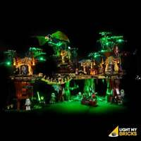 LIGHT MY BRICKS - LED Light kit for LEGO Star Wars Ewok Village 10236