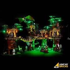 LIGHT MY BRICKS - LED Light kit for LEGO Star Wars Ewok Village 10236