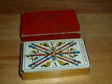 VINTAGE TAROT CARDS MODEL 1JJ 78 CARDS DECK SWITZERLAND WEHMAN BROS PUBLISHERS