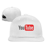 Unisex The Best YouTube Snapback Adjustable Flat Baseball Hat/Cap