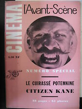 Vorderzeug Panzerkreuzer Potemkin Citizen Kane Special Avant-Scene Kino Kein 11,