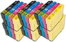 24 T18 XL NON-OEM Cartuchos de tinta para Epson XP-225 XP-30 XP-302 XP-305 XP-312
