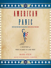 American Panic: A History of What Scares Us & Why by Stein paperback