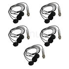 5Pcs Sound Pure Bass 3 Sensor Pickup for 5-String Acoustic Bass Guitar With Jack
