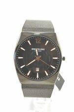 Kenneth Cole New York KC50491004 Black Dial Men's Mesh Bracelet Watch