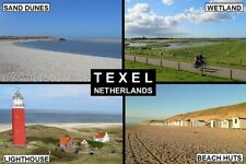 SOUVENIR FRIDGE MAGNET of TEXEL NETHERLANDS