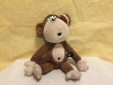 """BOBBY JACK THE CUTE MONKEY 8"""" Plush STUFFED ANIMAL Toy"""