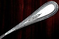Frank W. Smith Sterling Silver Master Butter Spreader Feather Edge No Monogram