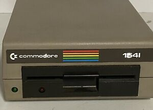Vintage Commodore 64 1541 floppy disk drive. C64. Nice Shape!