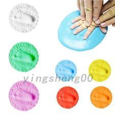 3 X Soft Baby Air Drying Clay Baby Handprint Footprint Imprint Kit Casting Mould