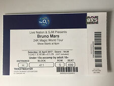 bruno mars ticket
