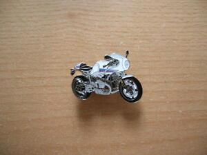 Pin Anstecker BMW R nine T / RnineT Racer weiss Motorrad Moto Art. 1273