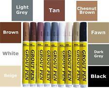 Grout Pen Revives & Restores Tile Grout Anti Mould White Grey Black Beige Cream