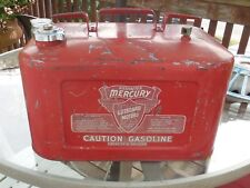 6 Gallon Kiekhaefer Mercury Gasoline Gas Fuel Tank Outboard Boat Motor Johnson n