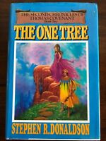 The One Tree - HC Book - by Stephen R. Donaldson - Vintage Fantasy (1982)