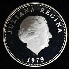 Netherlands Antilles 25 Gulden 1979 Proof silver KM#22 Year of Child Utrecht
