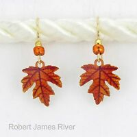 "Sienna Sky ""Fall Leaf""  Earrings"