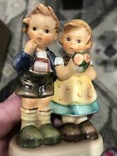 "New ListingGoebel Hummel #220 ""We Congratulate� Girl And Boy With Flowers 4� Tall"
