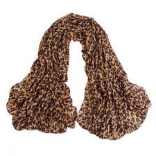 Soft Long  Fashion Women Chiffon Wrap Shawl Leopard Scarf