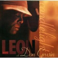 LEON WARE With DON GRUSIN Candlelight NEW & SEALED  SOUL JAZZ CD (EXPANSION)