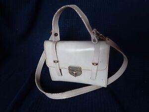 petit sac d enfant poupee femme fashion en sky blanc ancien vintage