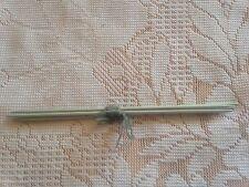 SET OF FOUR KNITTING NEEDLES SIZE 3 1/4  mm ( 10 )* GREY ALUMINIUM  *