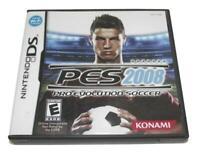 PES 2008 Pro Evolution Soccer DS 2DS 3DS Game *Complete*