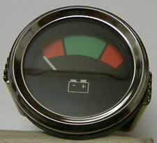 "Massey Ferguson, 2"" Voltmeter With Colored Dial, Fits Various Mf & other Tracto"