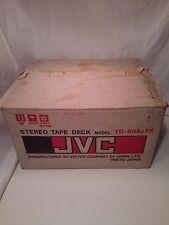 MINT! Vintage JVC TD-1695U REEL TO REEL RECORDER * Stereo Tape Deck Player Audio