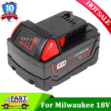 For Milwaukee M18 Red Lithium XC 4.0AH 48-11-1850 Extended High Capacity Battery
