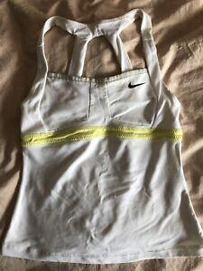 Nike Girls' Dri-FIT Sharapova Tennis Tank Top Size M White