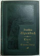 Deutsches Alpenbuch Oberbaiern, Landeskunde, Salzkammergut, Oberbaiern, Allgäu