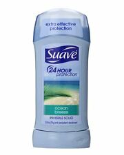 Suave Naturals Deodorant Invisible Solid Pacific Breeze 2.60 oz (2 pack)
