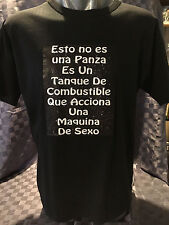 Mens Size Large Argentina Black T-Shirt