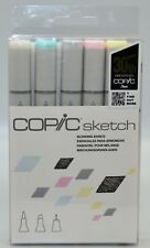 Copic Markers 'Blending Basics' Sketch Marker and Multi-Liner Pen Pack of 6 New