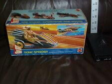 BIG JIM MATTEL SONIC SPEEDER CONDOR FORCE NEVER PLAYED WITH 1986 FOREIGN