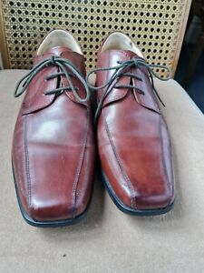 Steptronic mens leather  shoes brown size 7