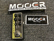 Mooer Micro Preamp 002 UK Gold 900 Guitar Effects Pedal Based on Marshall JCM900