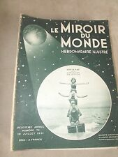 Le Miroir du monde n° 72- 18 juillet 1931 sport de plage aquaplane