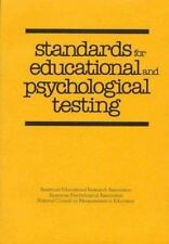 Standards for Educational and Psychological Testing, American Psychological Asso