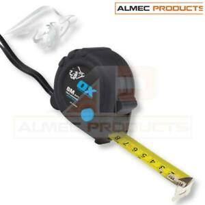OX Tools Tape Measure Trade 8m Metric/Imperial OX-T020608