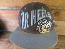 a3f57d7a70c UNC North Carolina TAR HEELS New Era Snapback Adult Cap Hat