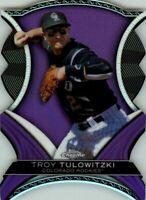 2012 Topps Chrome Dynamic Die Cuts #TT Troy Tulowitzki