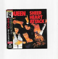 Queen Sheer Heart Attack Japanese Cd Tocp-65103 With Lyric Sheet Freddie Mercury