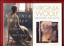 2 Virginia Woolf books: A Room of One's Own & Between the Acts - Free shipping