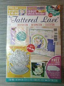 Tattered Lace, Magazin, Gratis Stanzschablone Heft 50